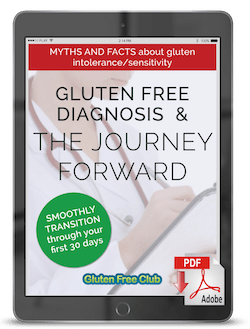 Gluten Free Diagnosis Cover