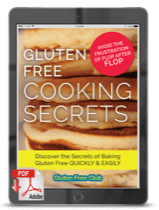 Gluten Free Cooking Secrets Cover