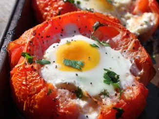 Baked Tomate Eggs1
