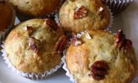 Banana Pecan Muffins 3