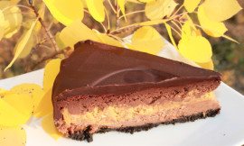 Double Chocolate Pumpkin Cheesecake1