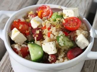 Quinoa Greek Salad1
