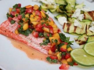 Salmon Fruit Chimmichuri1