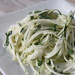 Zucchini Spaghetti Chive1