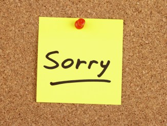 Launch Apologies