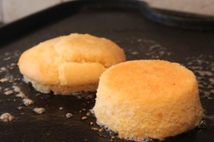 Gluten Free Grilled Corn Muffin