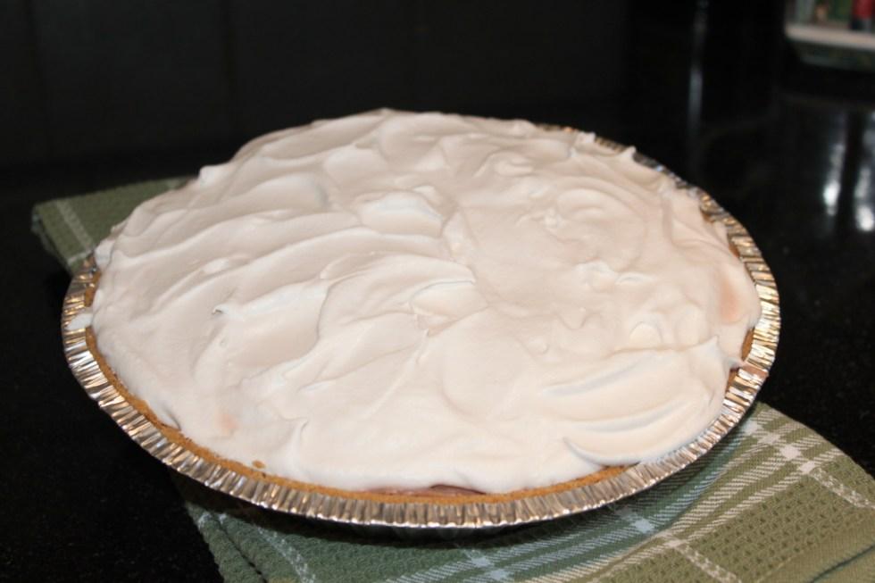 Gluten Free Chocolate Cream Pie with MI-DEL's Graham Style Pie Crust