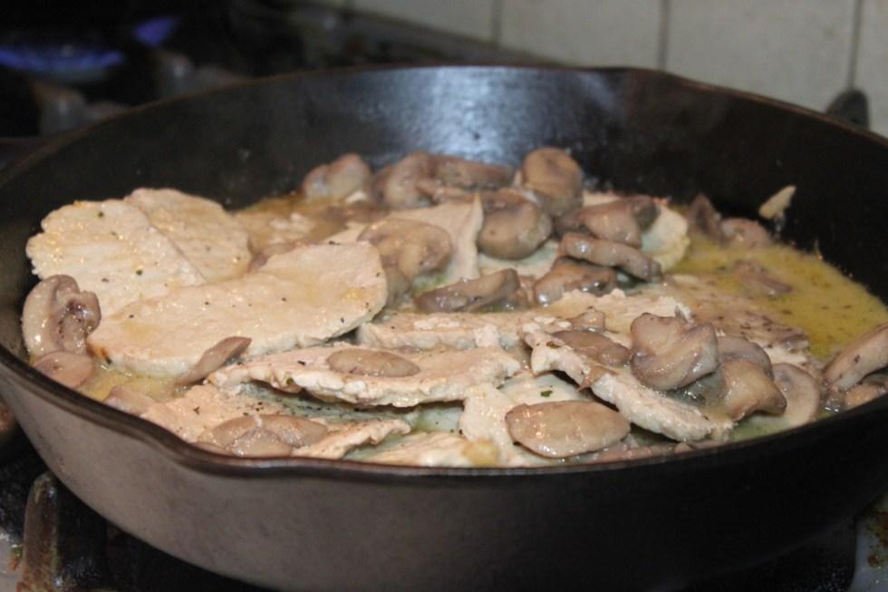 5 simple steps to Delicious Gluten Free Pork Marsala