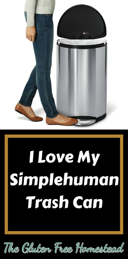 The Lamborghini of trash cans! | simplehuman trash can product review | stainless steel trash can | Kitchen trash can