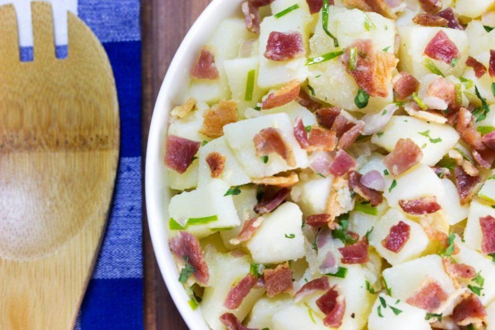 Learn my secret to make healthier potato salad | gluten free recipe | paleo recipe | Healthy recipe | nutrition