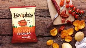 Keoghs Farm Irish Chorizo and Cherry Tomato Crisps