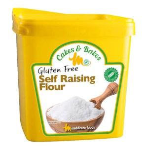 Middletons Gluten Free Self Raising Flour