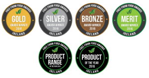 FreeFrom Food Awards Badges 2016