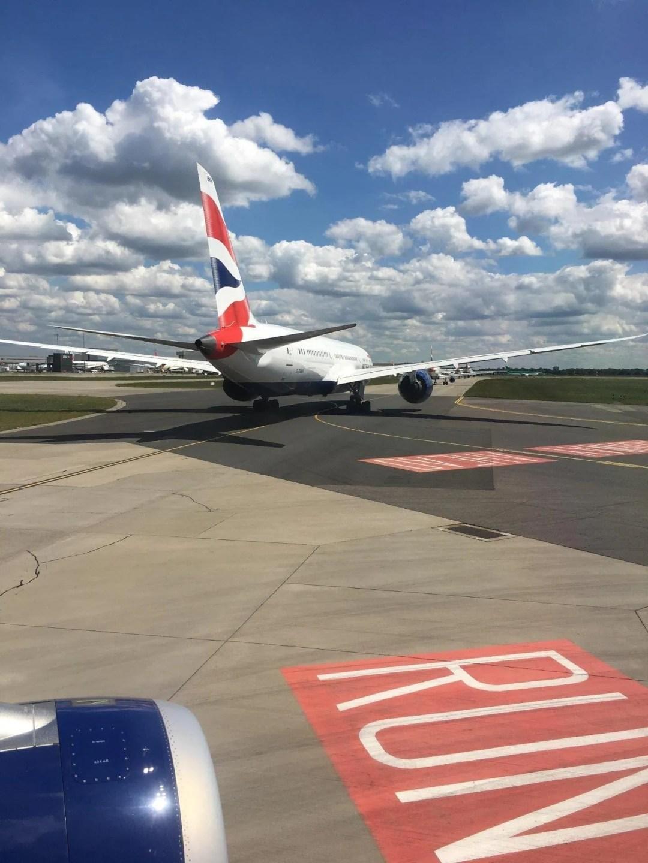 Heathrow to Milan