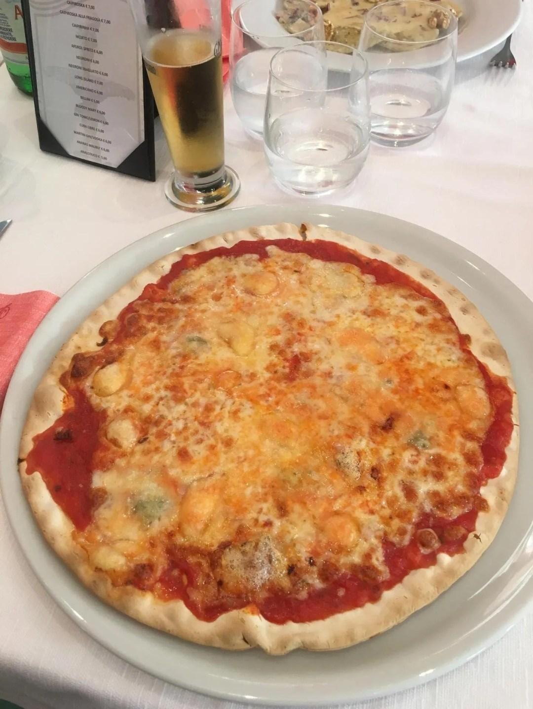 Gluten free pizza Lake Como