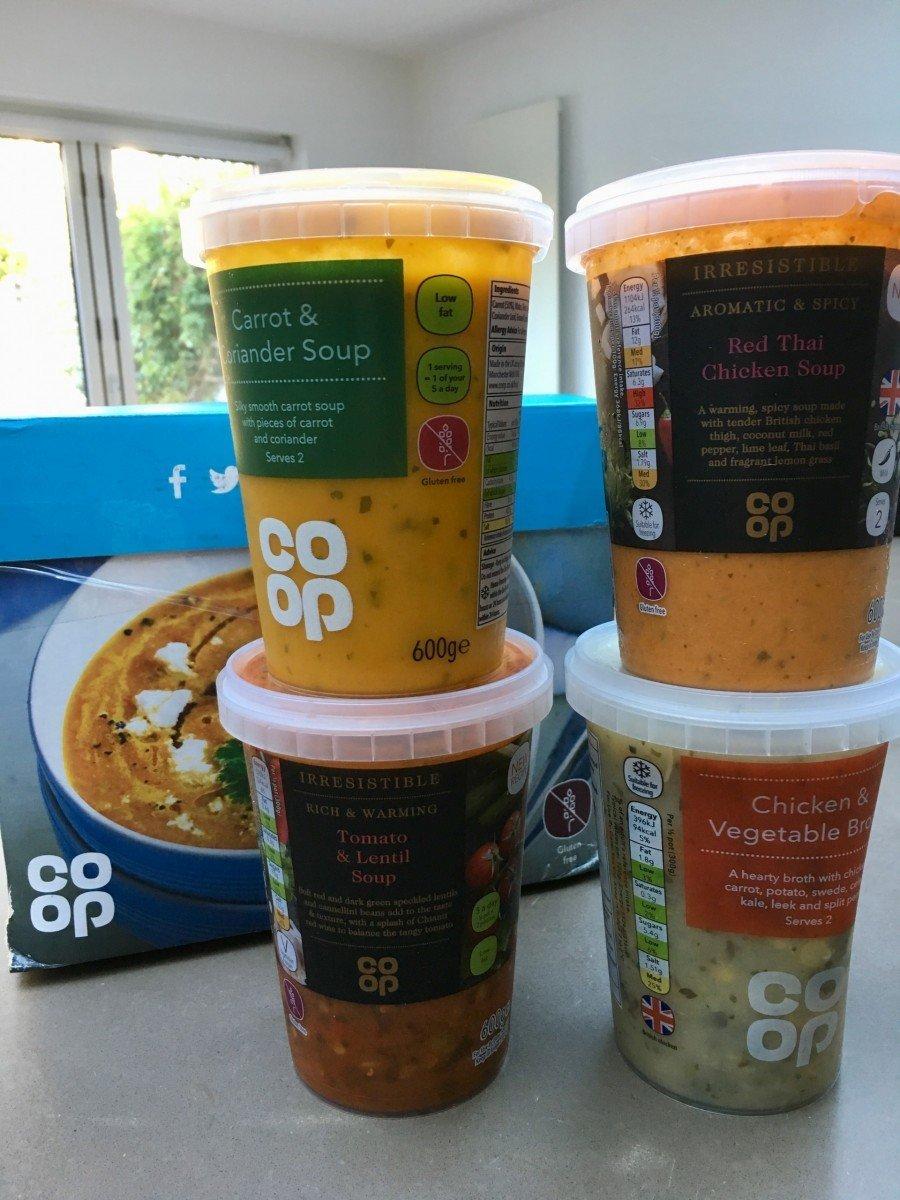 gluten Free minestrone soup Coop
