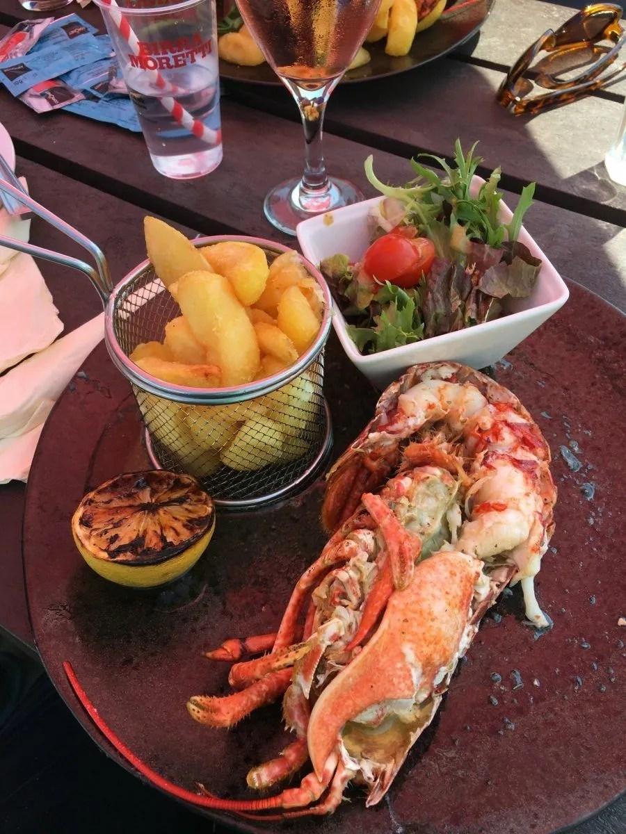 adventures of a gluten free globetrekker Gluten Free Isle of Wight: Crab & Lobster, Bembridge Gluten Free Travel UK Isle of Wight  gluten free Isle of Wight