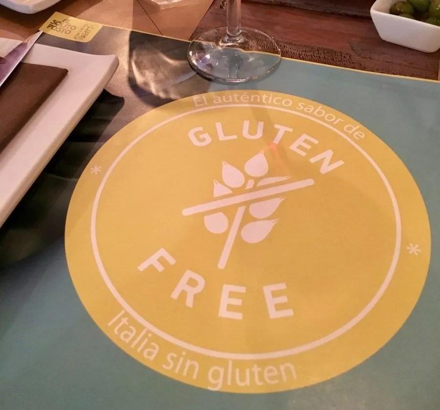 adventures of a gluten free globetrekker Gluten Free Seville: Al Solito Posto Seville Spain  gluten free Seville gluten free pizza