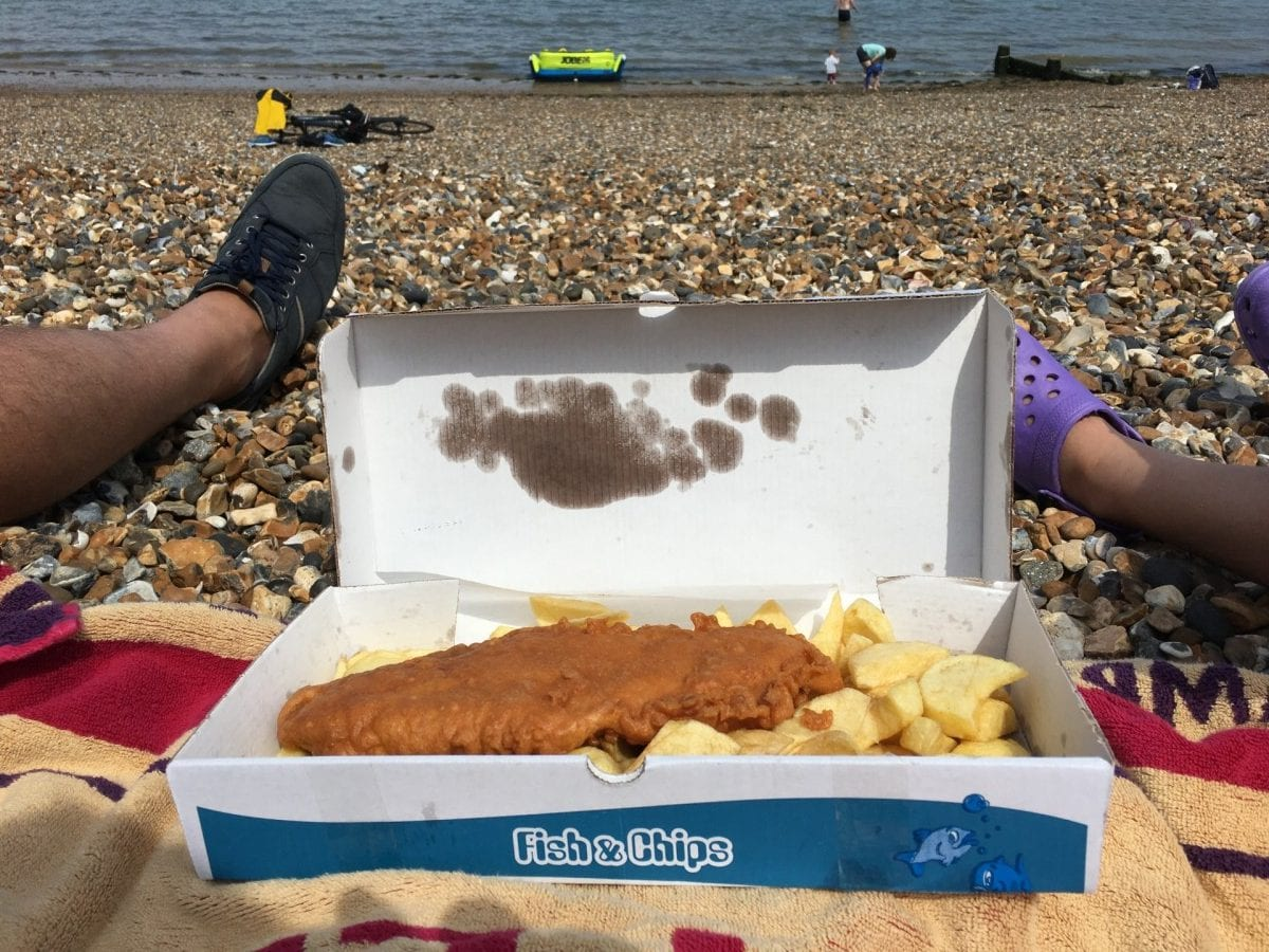 gluten free fish and chips Kent