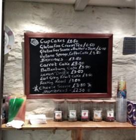 adventures of a gluten free globetrekker Cupcakes Café, Port Isaac, Cornwall Cornwall Gluten Free Travel UK