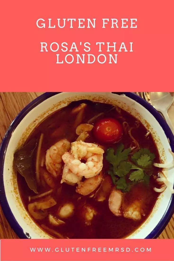 adventures of a gluten free globetrekker Gluten Free London Restaurant: Rosa's Thai Gluten Free Travel UK London