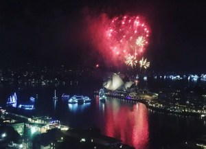 adventures of a gluten free globetrekker Sydney New Year fireworks
