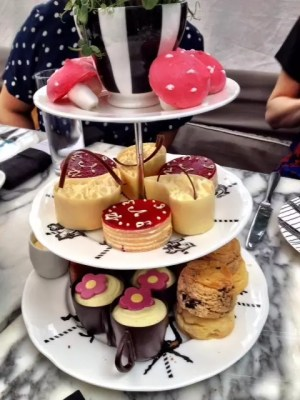 adventures of a gluten free globetrekker Gluten Free Afternoon Tea, London: Mad Hatter's at The Sanderson Gluten Free Afternoon Tea London