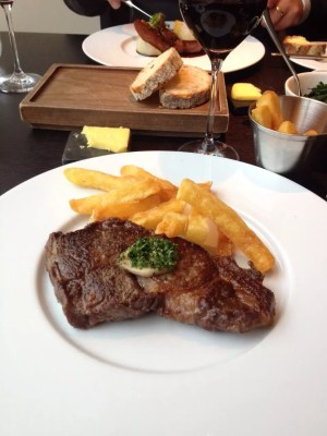 adventures of a gluten free globetrekker Aberdeen Angus and triple cooked chips