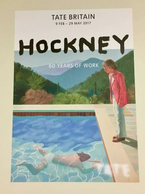 adventures of a gluten free globetrekker Hockney Tate Britain