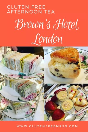 adventures of a gluten free globetrekker Gluten and Nut Free Afternoon Tea at Brown's Hotel, London