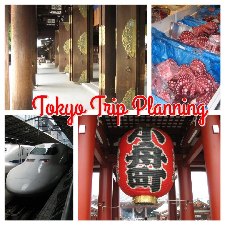 Gluten Free Tirp Planning to Tokyo