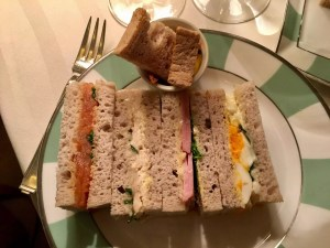 adventures of a gluten free globetrekker gluten free sandwiches Claridges hotel