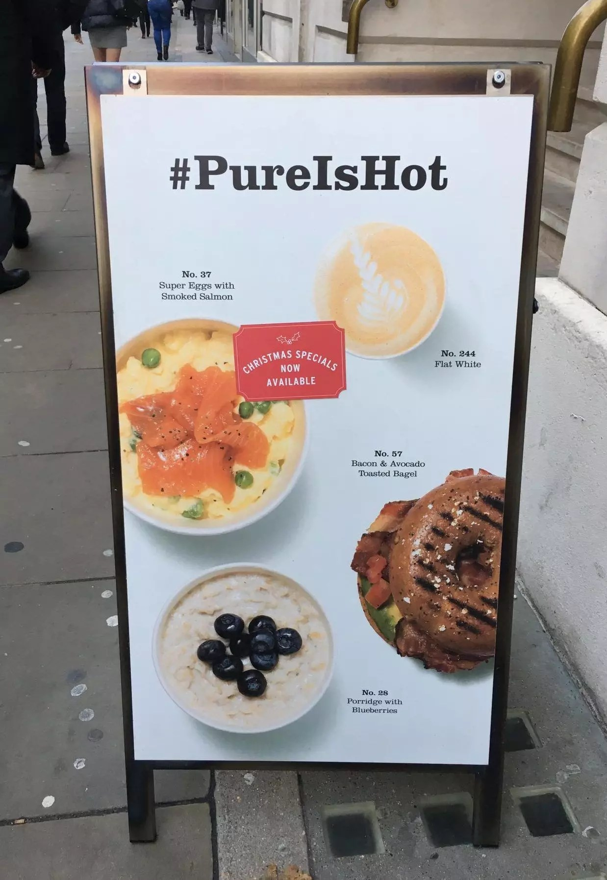 gluten free london breakfast options #pureishot