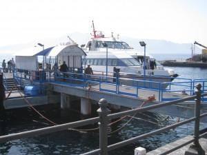 adventures of a gluten free globetrekker Malfa ferry