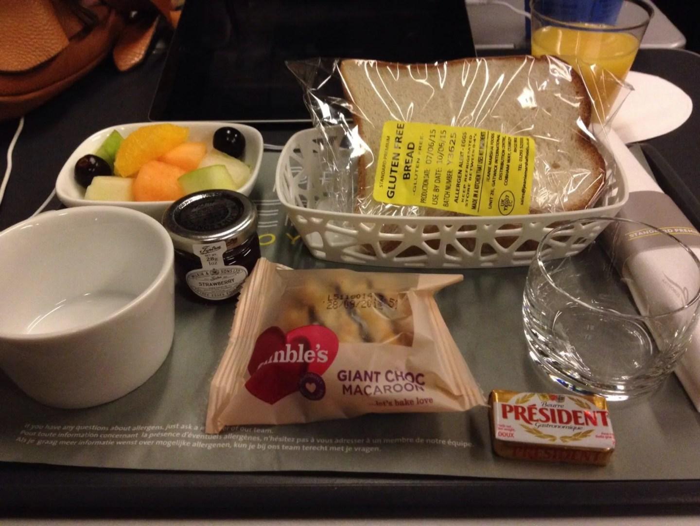 eurostar breakfast