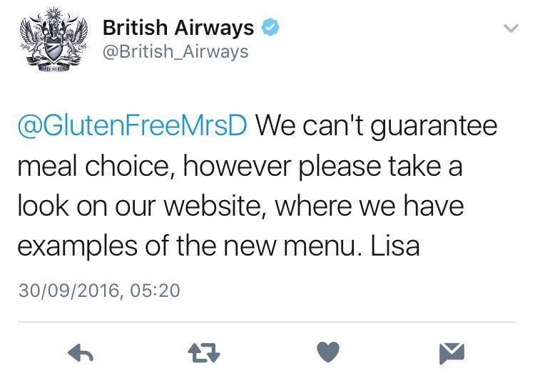 adventures of a gluten free globetrekker Gluten Free Travel: Changes to In-Flight Catering on British Airways Gluten Free Travel International