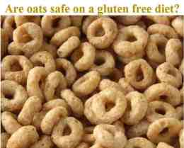 oats - are they safe on a gluten free diet