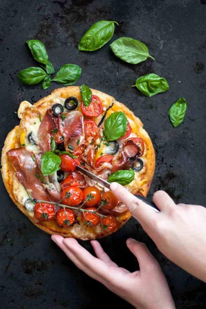 Gluten-Free Yeast-Free Pizza Crust