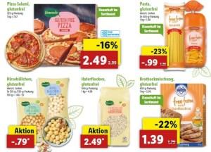 glutenfreie Angebote Lidl KW6