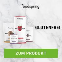 Foodspring glutenfrei