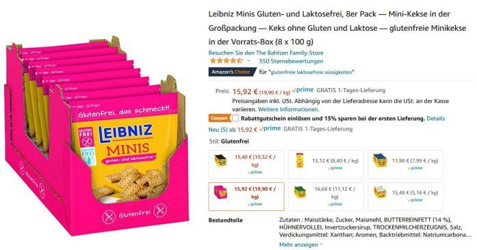 Leipniz Mini glutenfrei
