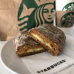 Starbucks Glutenvrije Chickenpesto Panini