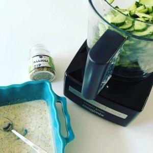 Glutenvrije Komkommersalade