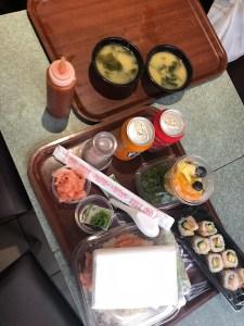 Glutenvrije sushi in parijs