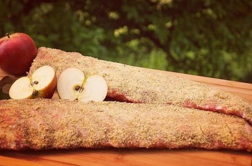 Sweet Apple Ribs