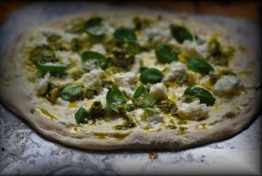 Pizza-Vorbereiten