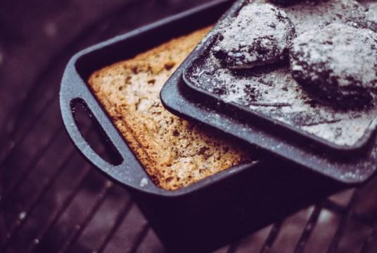 Gebackener Kuchen in der Kastenform