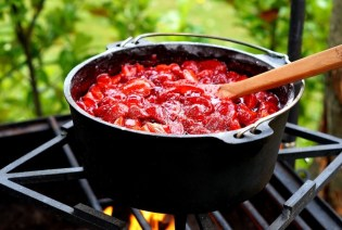 Fertige Marmelade