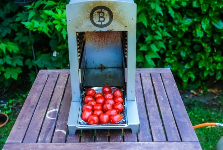 Tomaten im Beefer