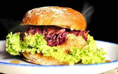 Der Pulled Duck Burger